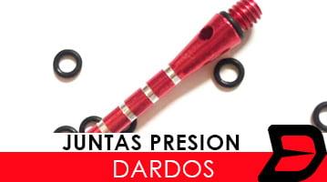 juntas presion dardos
